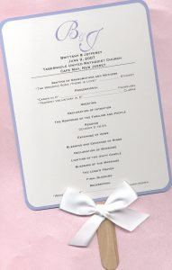 wedding program fans template brittany jones program fan