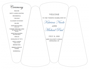 wedding program fans template free printable wedding program fan templates