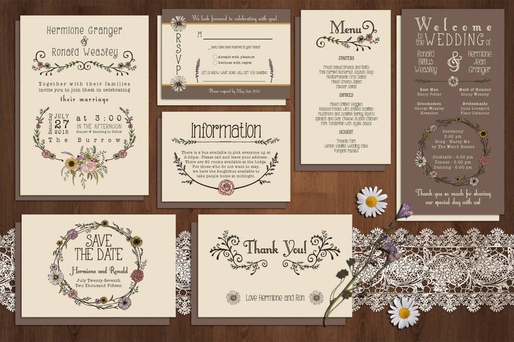 Wedding Program Template Free  Template Business