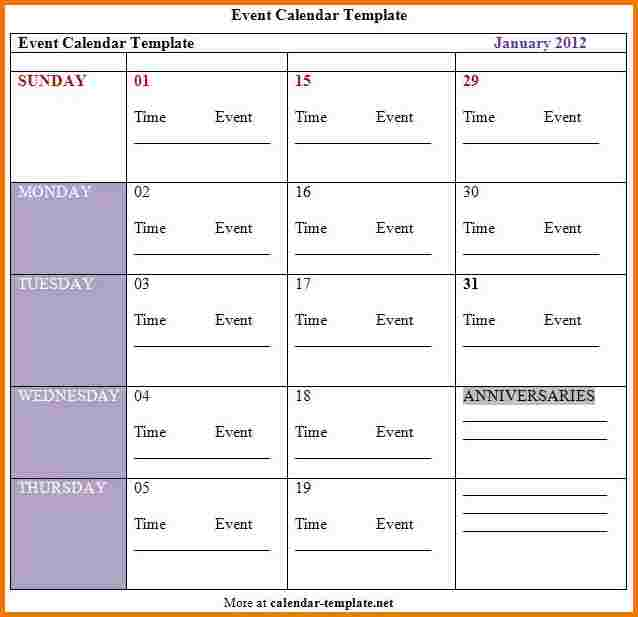 Wedding program template free template business for Wedding day schedule of events template