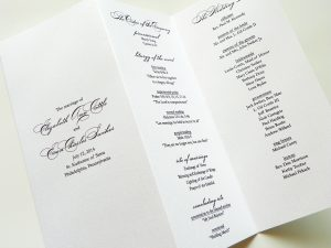 wedding programs fans templates il fullxfull