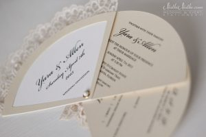 wedding programs fans templates wedding invitation fan three parts with rsvp
