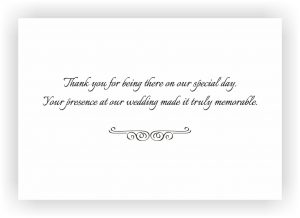 wedding thank you examples normal
