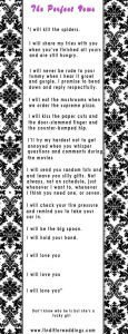 wedding thank you examples wedding vow ideas