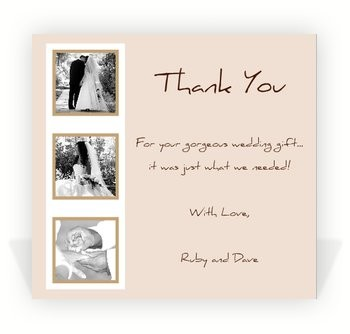 wedding thank you note wording Intoanysearchco