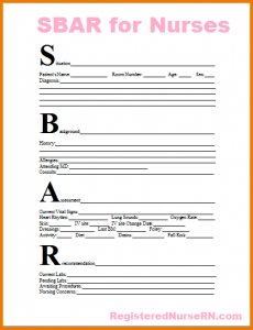 wedding thank you note sample nurse report sheet template sbar for nurses report sheet