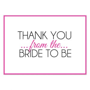 wedding thank you note templates free bridal shower thank you cards from bride and groom