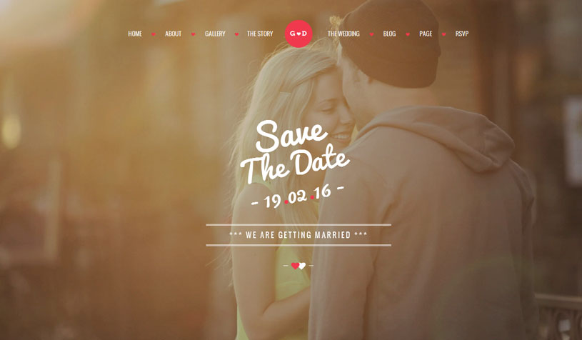 wedding website templates