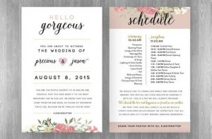 wedding weekend itinerary how to plan a wedding reception timeline int