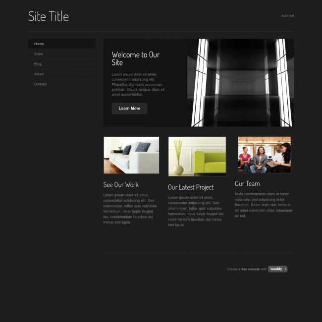 weebly site templates - weebly website templates template business