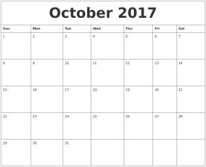 weekly calendar pdf october free weekly calendar