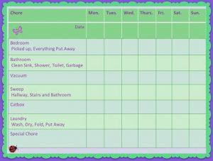 weekly chore chart efaeedbdfeffdd weekly chore charts weekly chores