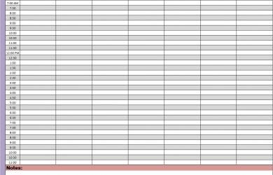 weekly hourly planner weekly planners printable planners