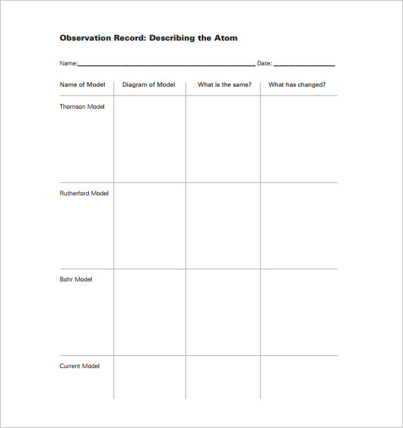 Weekly Lesson Plan Template Pdf  Template Business