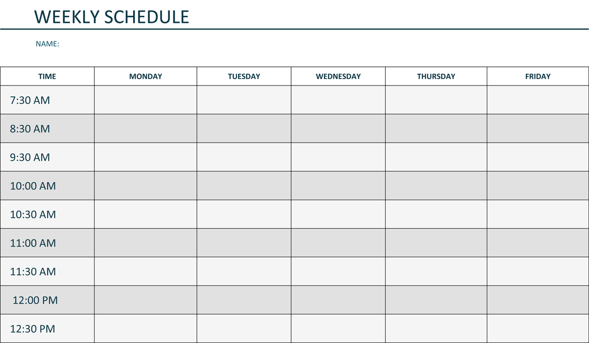 Weekly Lesson Plan Template Pdf Template Business - Monthly lesson plan template