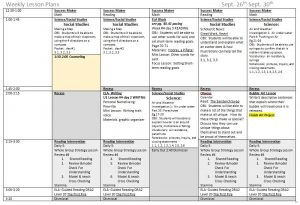 weekly lesson plan template pdf weekly lp