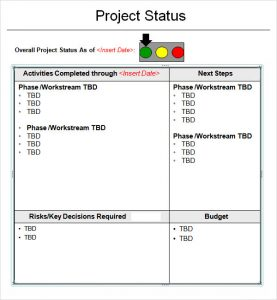 weekly to do list templates project status report template xtdbac