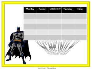 weekly to do list templates weekly calendars boys