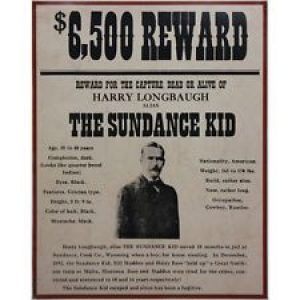 western wanted posters m