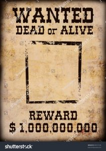 western wanted posters stock photo poster wanted dead or alive