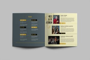will writing template brochure template