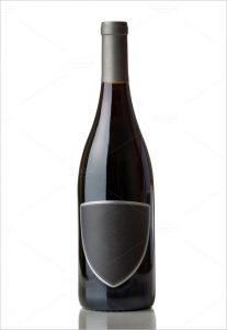 wine bottle template label template for wine bottle