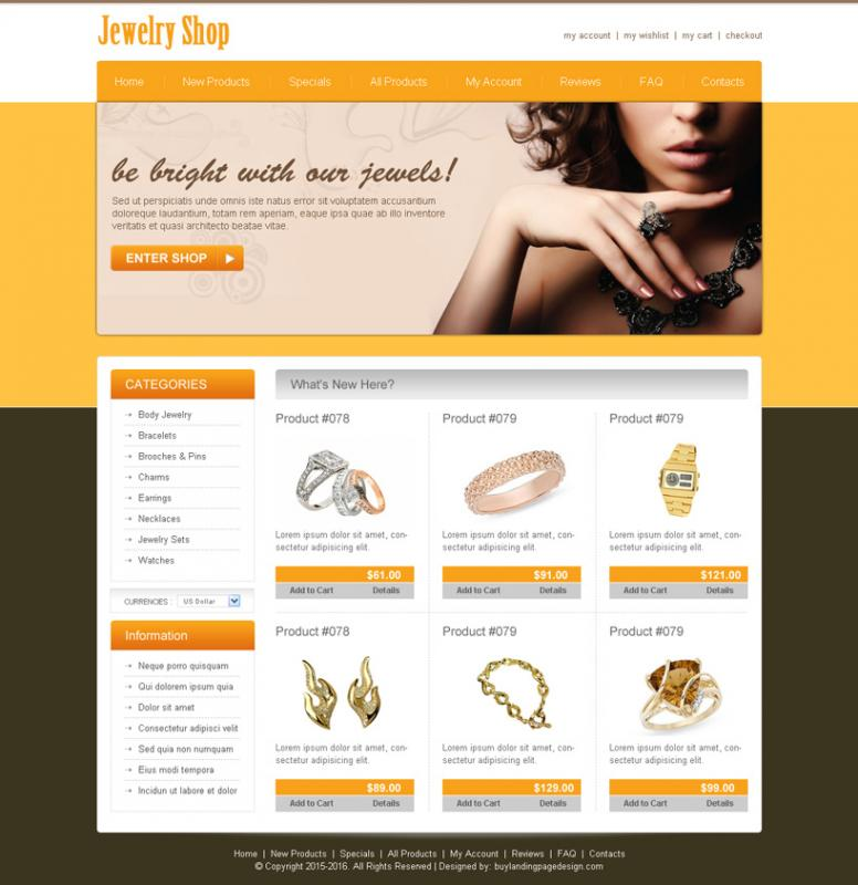 Wix web template template business for Outlet design online