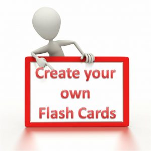 word flash card template flash cards