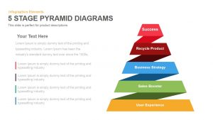 word maps templates stage pyramid diagrams powerpoint keynote template
