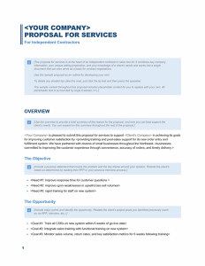 word proposal template sales proposal template