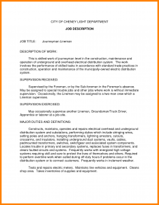 work contract template job summary examples resume job description examples is one of the best idea for you to make a good resume