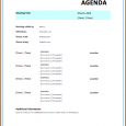 work order templates meeting itinerary template strategic meeting agenda