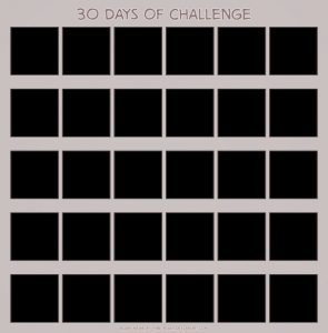 workout calendar free day challenge calendar template blank calendar pictures