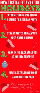 workout calendar free holidays x