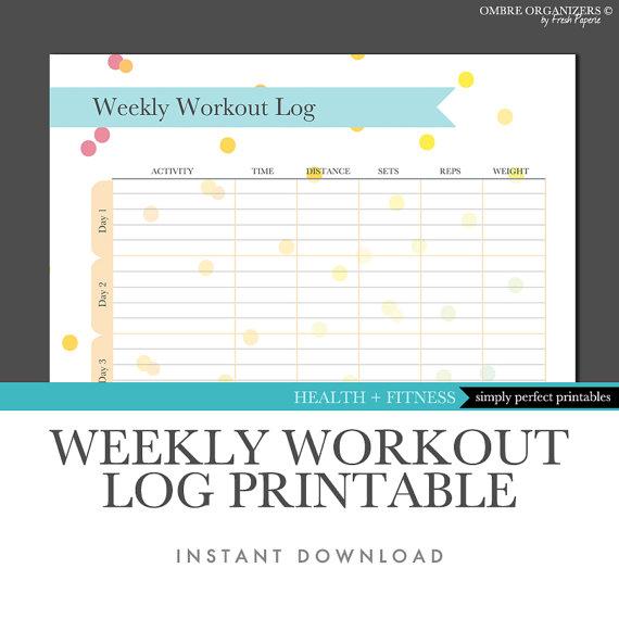 workout journal template