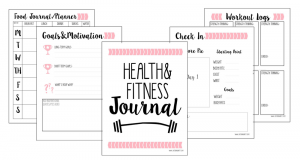 workout schedule template w