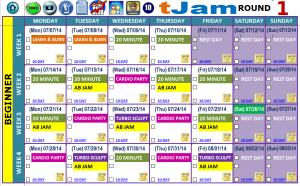 workout schedule template calendar beg
