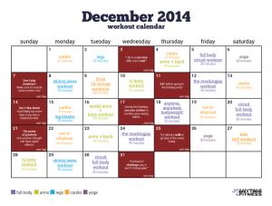 workout schedule template workout calendar image dec blog