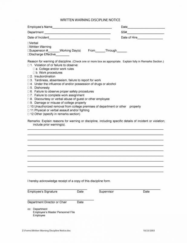 write up form