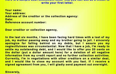 writing a letter of intrest how to write a convincing debt negotiation letter