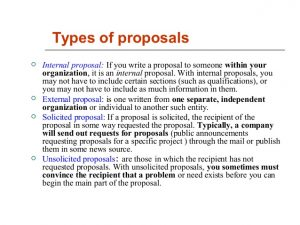 writing a proposal business proposal writing