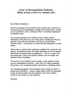 writing letters of recommendation how to write a recommendation letter qbiteo