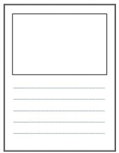 writing paper template blank writing paper