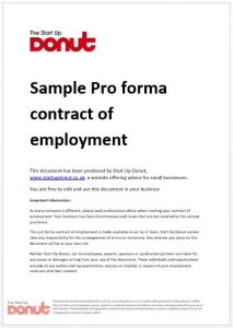 written warning form employment contract sample