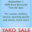 yard sale flyer free yard saleflyer