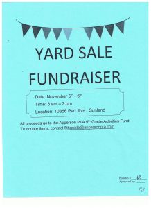 yard sale flyer template yard sale flyer
