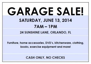 yard sales flyers editable garage sale flyer
