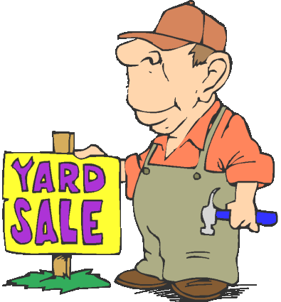 yard sales flyers