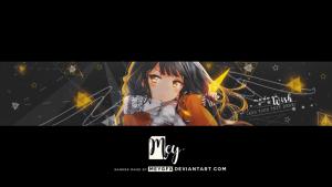 youtube banner no text sold masamune kun no revenge youtube banner by meygfx dbol