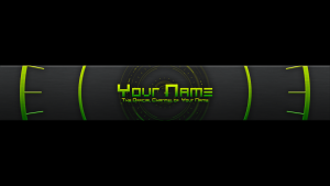 youtube banner templates image